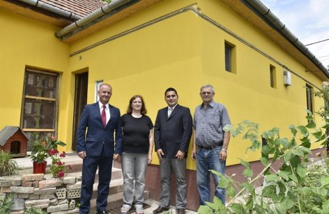 Needy family's home was renovated in Vecsés