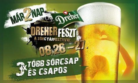 DreherFeszt: sörspecialitások és koncertek a sörgyárban