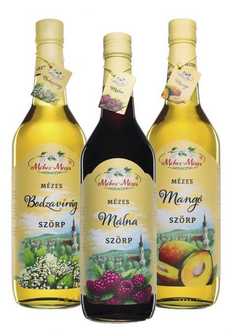 Méhes-Mézes Családi Gastro Szörp