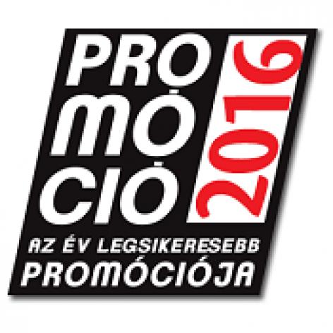 Az év legsikeresebb promóciója 2016 <br> 2017. április 06.