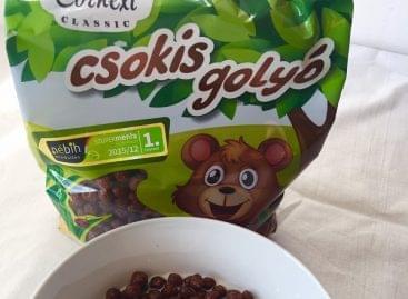Díjnyertes Cornexi csokoládés gabonagolyók