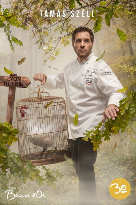 This is Tamás Széll's poster at the finals of Bocuse d'Or – Picture of the day