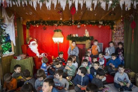 The Santa Claus Factory's collection point was opened in the Lurdy House