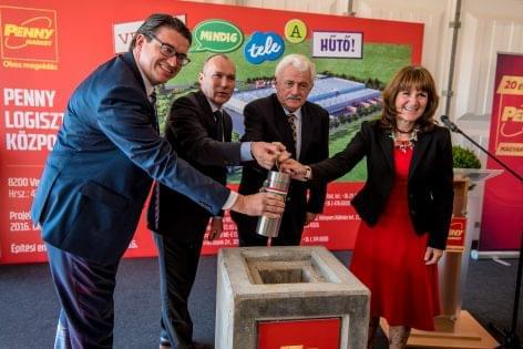 The Penny Market announced a 7.7 billion HUF development in Veszprém