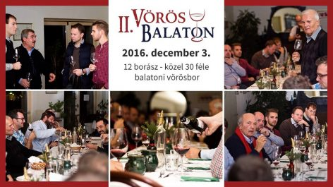 The best red wines of the Lake Balaton will be presented in Csopak