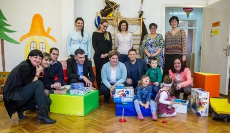 The offerings of the Syngenta employees will be used to develop children