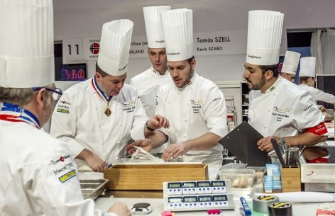 Bocuse d'Or: the Hungarian team is cooking on Tuesday