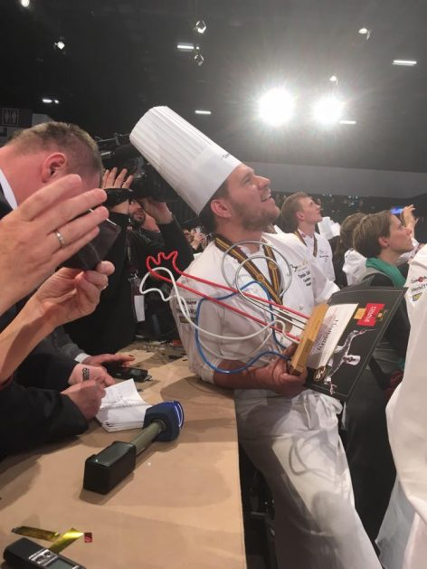 A fantastic fourth place at Bocuse d'Or