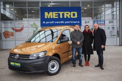 Átadták a METRO nyereményjáték ARANY fődíját