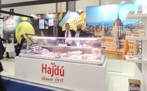 250 kilogramm Kőröstej-sajt fogyott a világ egyik legnagyobb élelmiszeripari kiállításán