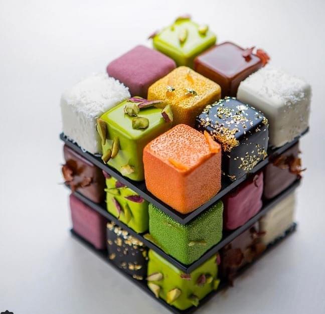 Rubik Erno es Cedric Grolet - A nap kepe