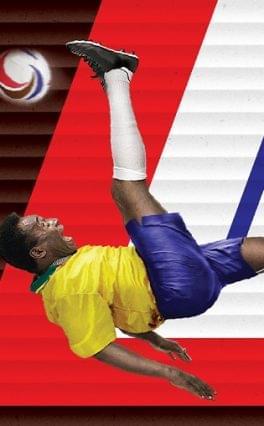 Snickers: Pelével találkozhatnak a magyar focirajongók