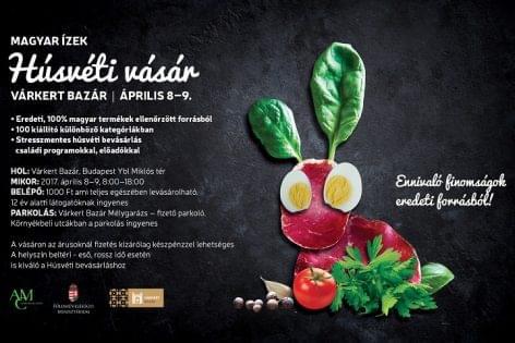 Magyar ízek húsvéti vására a Várkert Bazárban