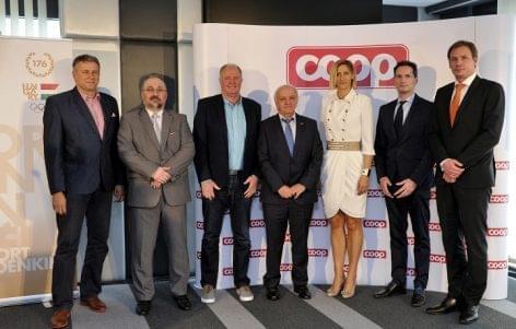 Újabb négyéves ciklusban támogatja a COOP a Magyar Olimpiai Csapatot