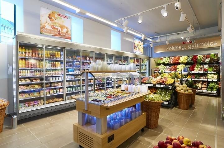 SPAR Budapest Retek utca szupermarket_belso1