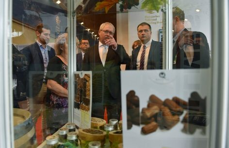A prominent number of exhibitors represent Hungary at the International Agricultural Fair in Novi Sad