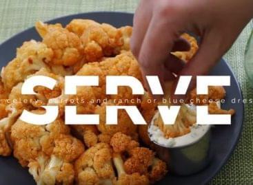 A vegák csirkeszárnya – A nap videója