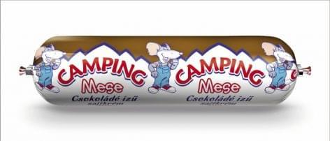 Itt a CAMPING MESE Csokoládéízű sajtkrém