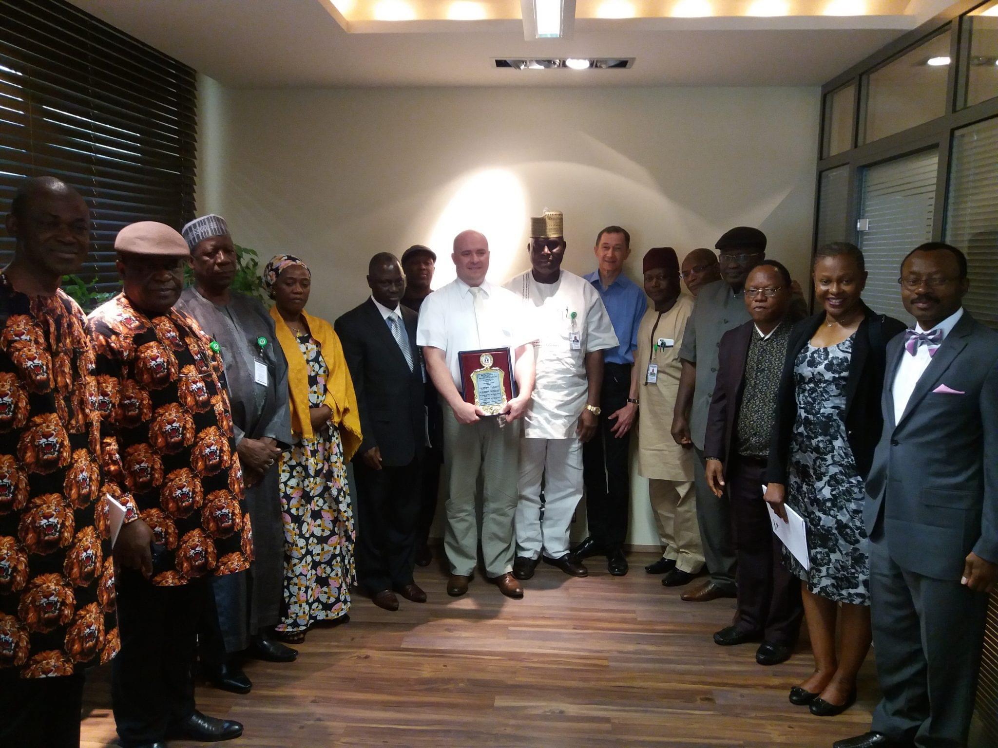 Nigériai delegáció az Agrármarketing Centrumban