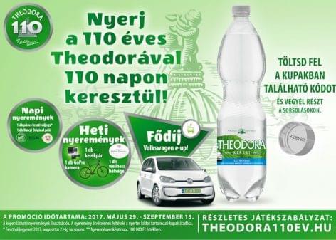 110 napos promóciós kampányt indított a 110 éves Theodora