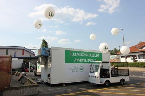 Élelmiszerbank introduced itself on Market's Night