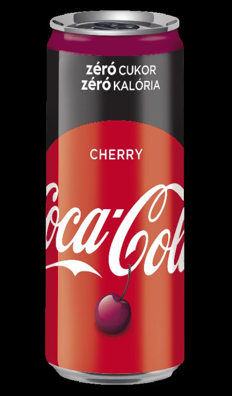 Coca-Cola Cherry becomes sugar-free