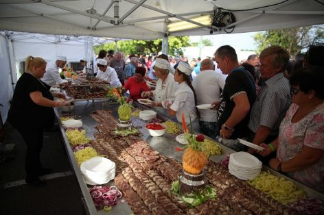 National gastro record at the traditional event of the metallurgists