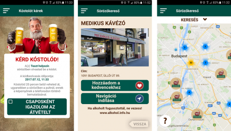 Do you want two glasses of beer? Download the Frissenszűrt application of Arany Ászok!