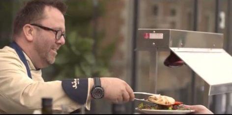 Magyar catering vállalkozás pr-filmje
