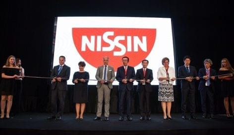 A Nissin Foods Kft. új gyáregységet avatott Kecskeméten