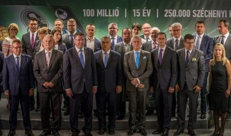 100 millió, 15 év, 250.000 Széchenyi Kártya