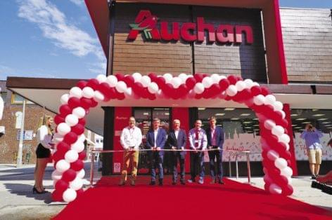First Auchan supermarket opens in Szekszárd
