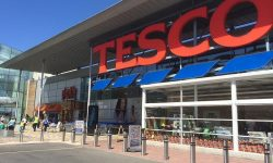 Food waste produced by Tesco is constantly decreasing
