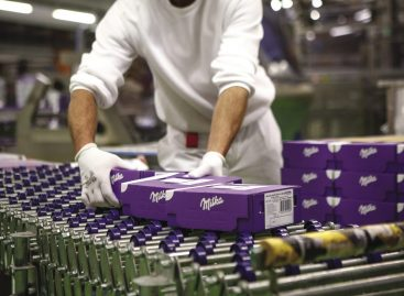 Székesfehérváron készül a Milka újhullámos csokija