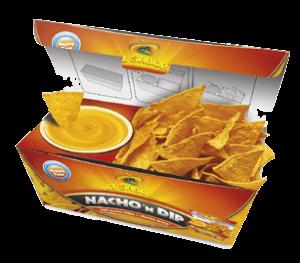 EL SABOR Nacho & Dip egy csomagolásban