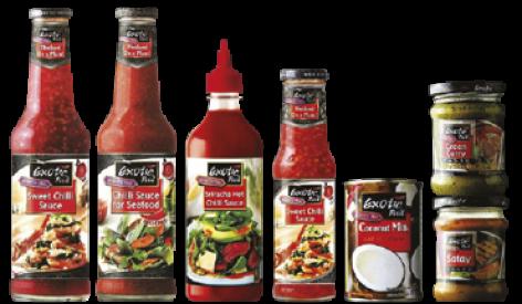Exotic Food Eredeti Thai Szószok 250 ml