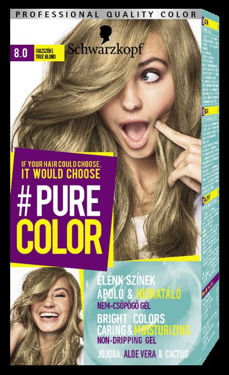 Schwarzkopf #Pure Color tartós hajfesték