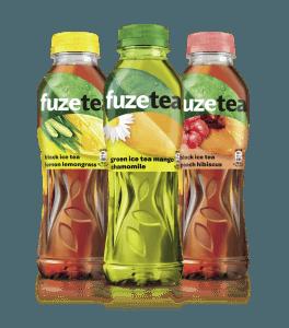 FUZETEA ice tea 0,5 l and 1,5 l
