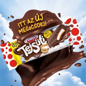 Milk Cookie + chocolate =  Milk Cookie MEGaCSOKI