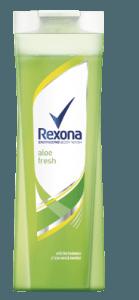 New Rexona shower gels