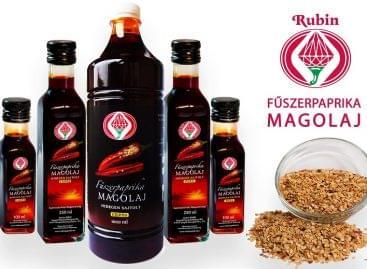 A Top 11 innováció közé válogatták a Magyar Rubin Fűszerpaprika Magolajat Dubajban