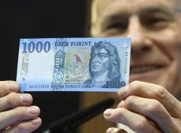 Csütörtöktől jön az új ezer forintos