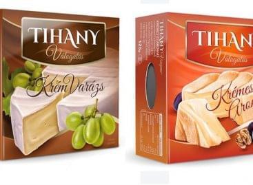 Új csomagolásban kaphatók a Tihany Válogatás és Karaván márkák termékei