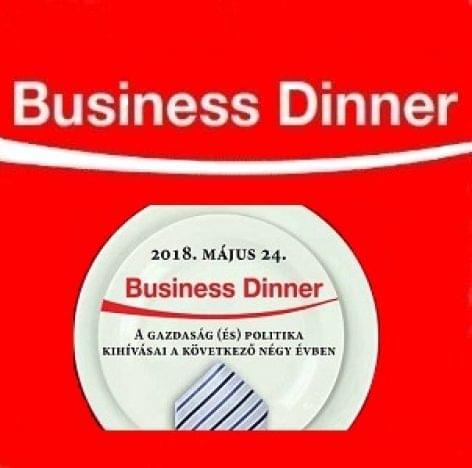 Business Dinner 2018. május 24.