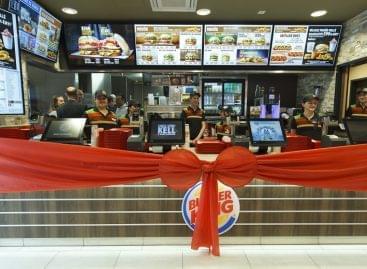 Zalaegerszegen nyitotta negyvenedik éttermét a Burger King