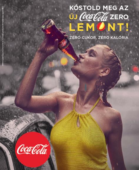 Márciustól kapható az új Coca-Cola zero Lemon