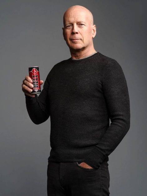 Bruce Willis a HELL ENERGY reklámarca