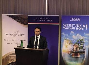 Magyar borral Közép-Európába és az Egyesült Királyságba