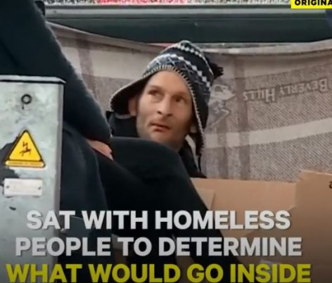 Vending-machine for the homeless – Video of the day