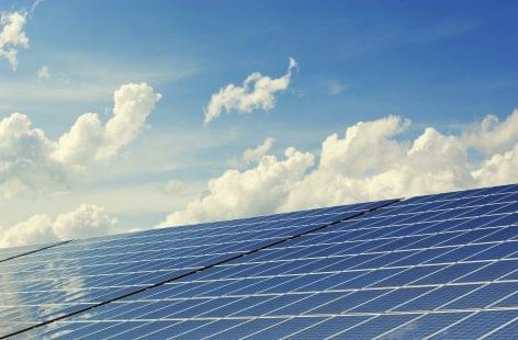 Legelő helyén napelempark